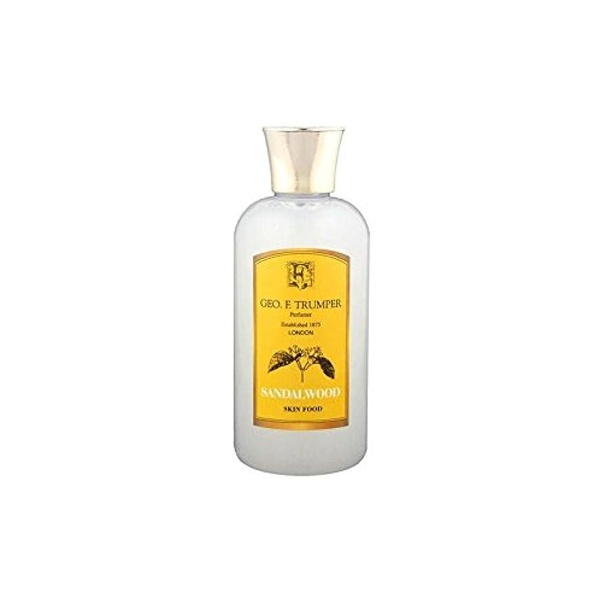 宮殿ナイトスポットワームTrumpers Sandalwood Skin Food - 100ml Travel (Pack of 6) - サンダルウッドスキンフード - 100ミリリットル旅 x6 [並行輸入品]