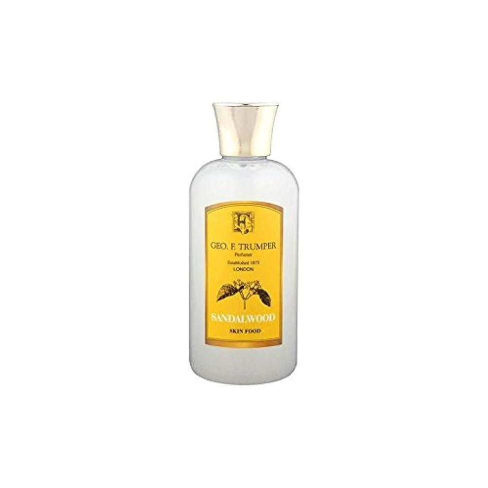 噴出するソビエトグレートバリアリーフTrumpers Sandalwood Skin Food - 100ml Travel (Pack of 6) - サンダルウッドスキンフード - 100ミリリットル旅 x6 [並行輸入品]