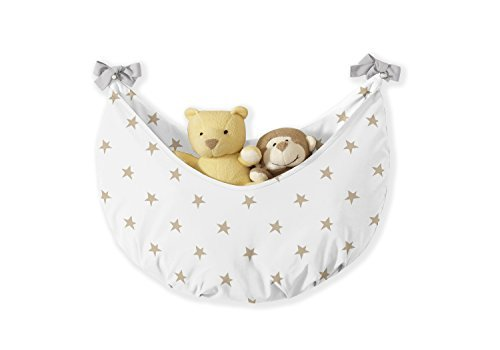 Sweet Jojo Designs 11-Piece Blush Pink, Gold, Grey and White Star and Moon Celestial Baby Girl Crib Bedding Set Without Bumper by