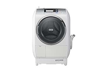 日立 10.0kg ドラム式洗濯乾燥機【左開き】シルバーHITACHI BD-V9700L-S