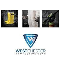 West Chesterブルー/ホワイトLarge分割牛革レザー耐熱グローブ–Wing親指–10in長–ic5dp / L [価格は1ダース]