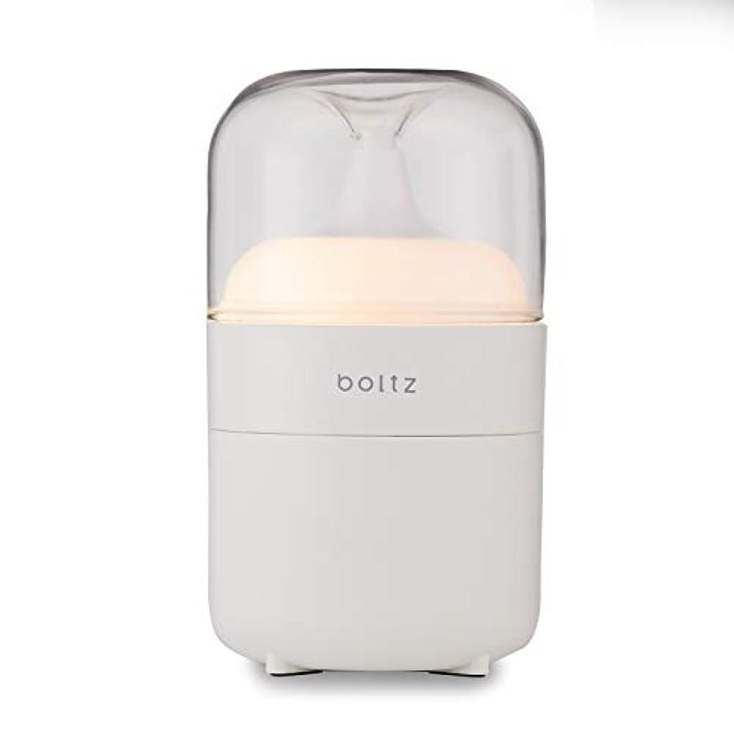 ショップかすかな香りboltz アロマディフューザー アロマバーナー ネプライザー式 アロマオイル対応 間接照明 USB対応