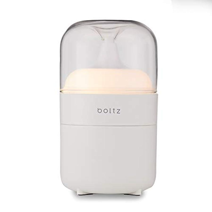 にじみ出る結果バイオレットLOWYA(ロウヤ) boltz アロマディフューザー ネプライザー式 アロマオイル対応 間接照明 おしゃれ USB対応