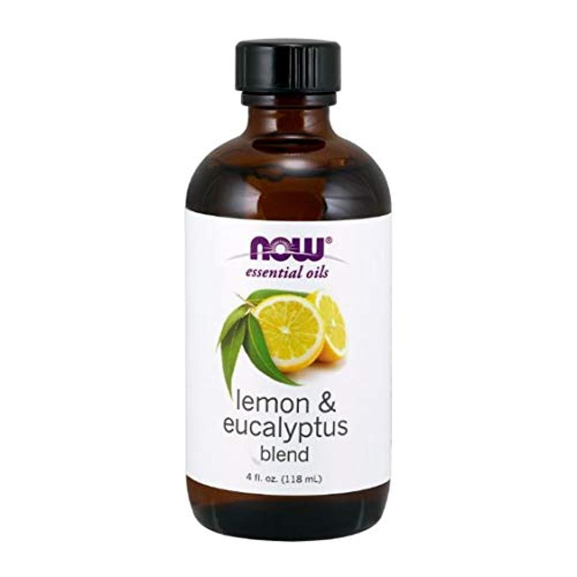 概してステーキ不良Now - Lemon & Eucalyptus Blend With Lemongrass 4 oz (118 ml) [並行輸入品]