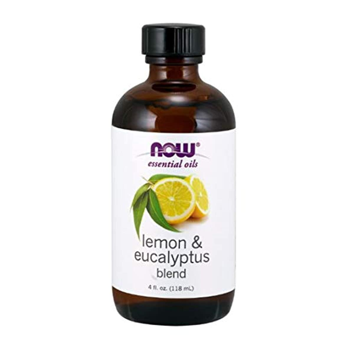 Now - Lemon & Eucalyptus Blend With Lemongrass 4 oz (118 ml) [並行輸入品]