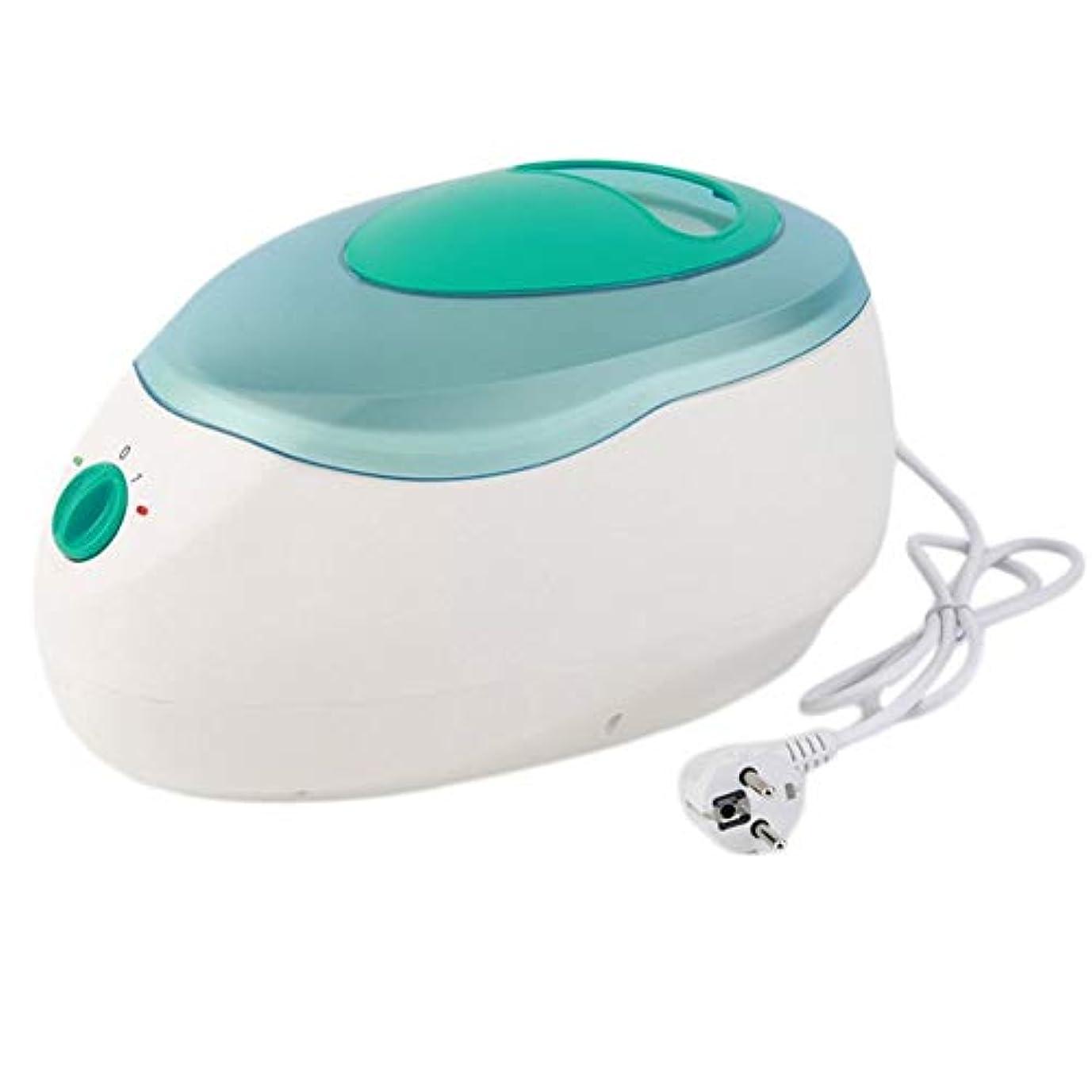 苦難切手ミシン手および足ボディワックスの毛の取り外しのためのワックス機械パラフィン療法の浴のワックスの鍋のウォーマーの美容院装置の鉱泉150W,グリーン