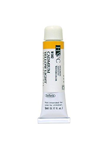 ホルベイン 透明水彩絵具 カドミウムイエローライト W042 5ml(2号)