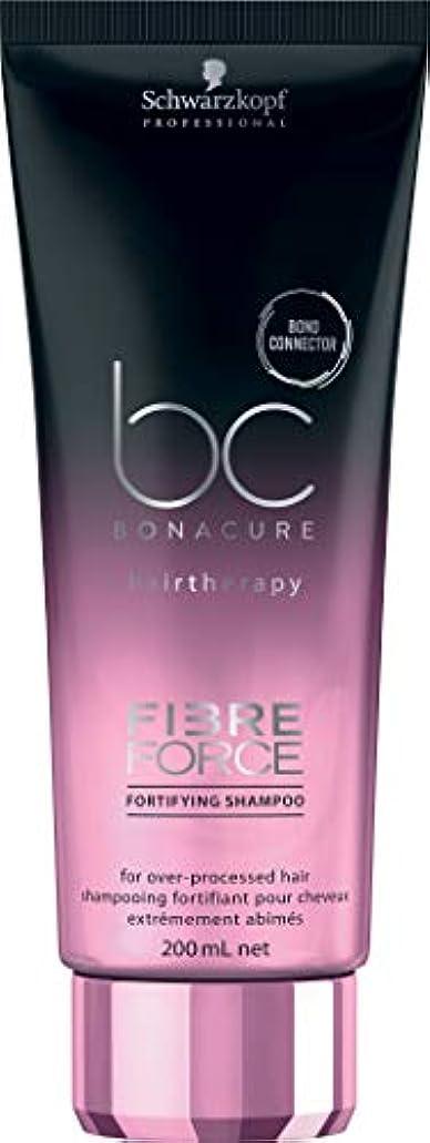 脅迫尊敬伝記シュワルツコフ BC ボナキュア ファイバー フォース フォーティファイ シャンプー Schwarzkopf BC Bonacure Fibre Force Fortifying Shampoo for Over-Processed...