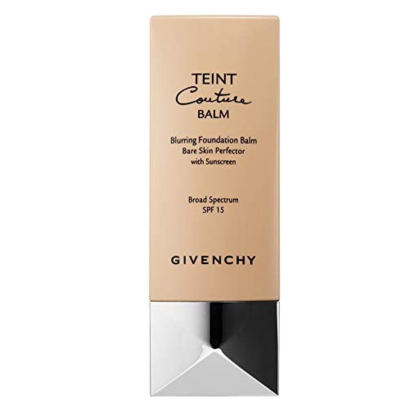 連隊策定する上にジバンシィ Teint Couture Blurring Foundation Balm SPF 15 - # 1 Nude Porcelain 30ml/1oz並行輸入品