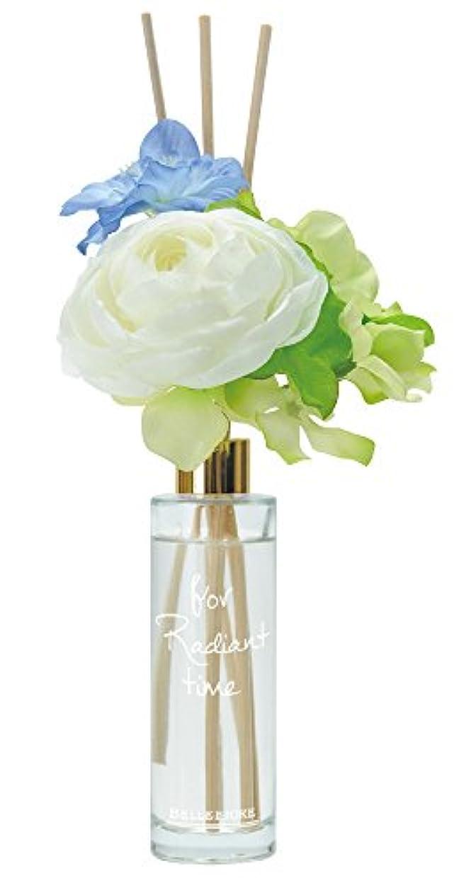 尋ねる成り立つ絶縁するノルコーポレーション リードディフューザー ベルフィオーレ ホワイトリリー&サボンの香り 85ml OA-BLE-3-4
