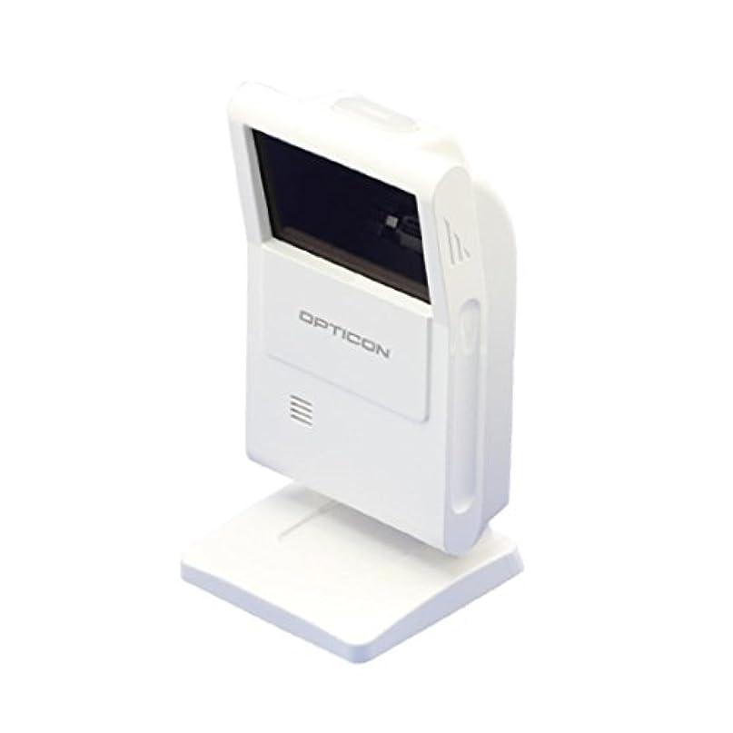 カバーマルクス主義誤解するオプトエレクトロニクス 定置型スキャナー M-10(USB接続?1次元2次元コード対応?型番:M-10-USB-WHT) (1台)
