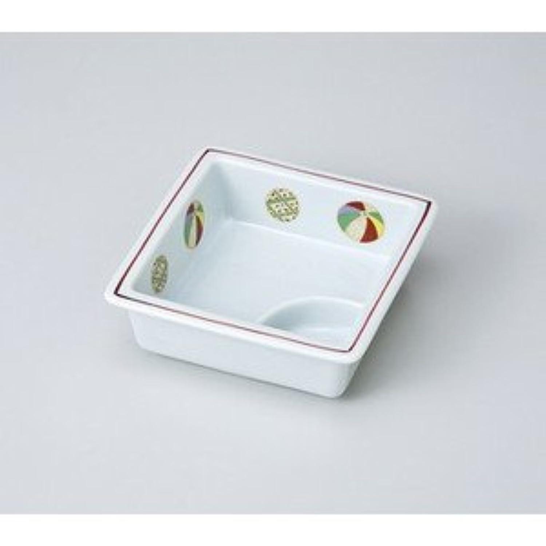 【美濃焼 松花堂】 夢風船仕切鉢  / お楽しみグッズ(キッチン用品) 付きセット