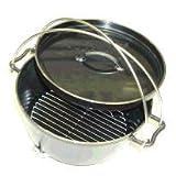 UNIFLAME ユニフレーム ダッチオーブン10インチスーパーディープ & 火持ちの良い特製岩手なら切炭6kg