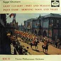 【※CDではありません】スッペ:序曲集/軽騎兵,詩人と農夫,ウィーンの朝・昼・晩,スペードの女王【中古LP】