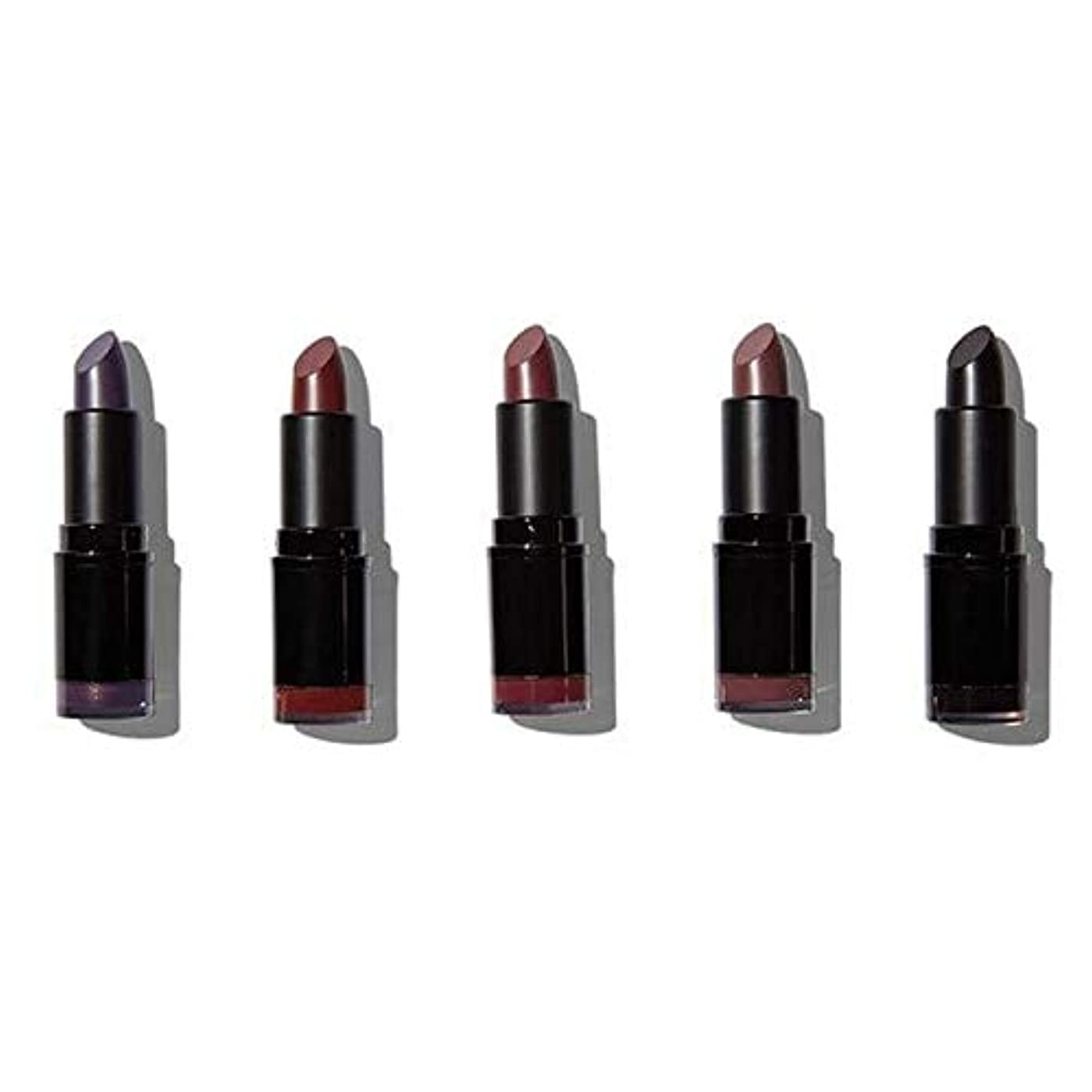 フラッシュのように素早くシソーラス見分ける[Revolution ] 革命プロ口紅コレクションマット?ノワール - Revolution Pro Lipstick Collection Matte Noir [並行輸入品]