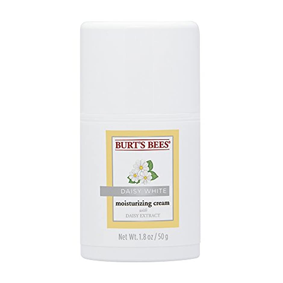 ジャングル避けられない気味の悪いバーツビーズ (Burt's Bees) デイジーホワイト モイスチャライジングクリーム 50g
