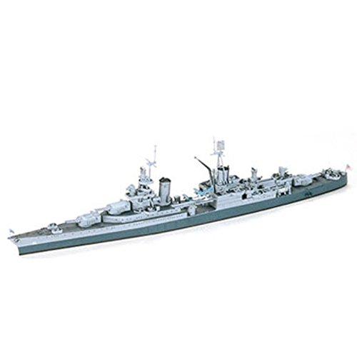 タミヤ 1/700 ウォーターラインシリーズ No.804 アメリカ海軍 重巡洋艦 インディアナポリス プラモデル 31804