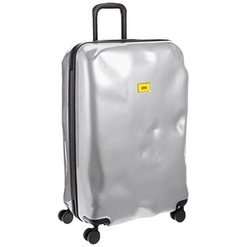 [クラッシュバゲッジ] CRASH BAGGAGE 取扱い注意不要スーツケースBRIGHT 無料預入れ受託ラージサイズTSAロック搭載 CB113 21 (SILVER MEDAL)