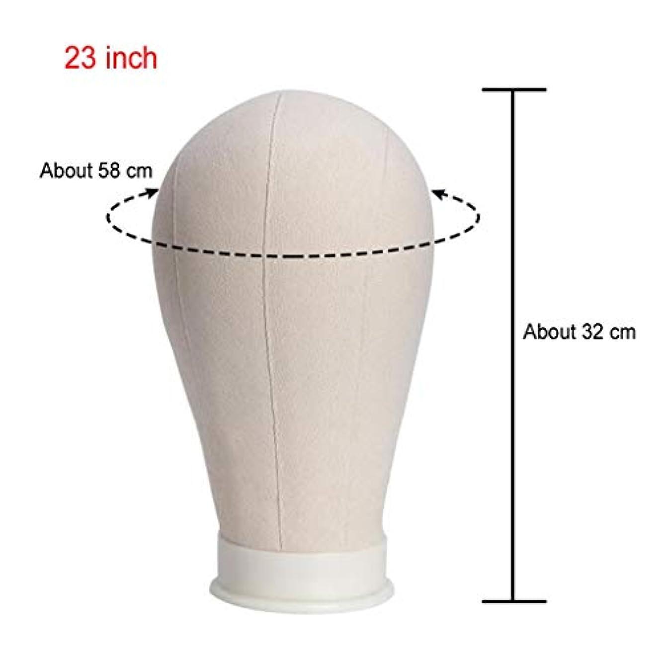 ニッケル一貫性のない条約Tichan モデルウィッグ キャンバス ヘッド キャンバス ブロック ヘッド マネキン ヘッド モデルウィッグ スタンド ディスプレイ メイキングウィッグ + 40TPins ディスプレイ、帽子スタンド (23