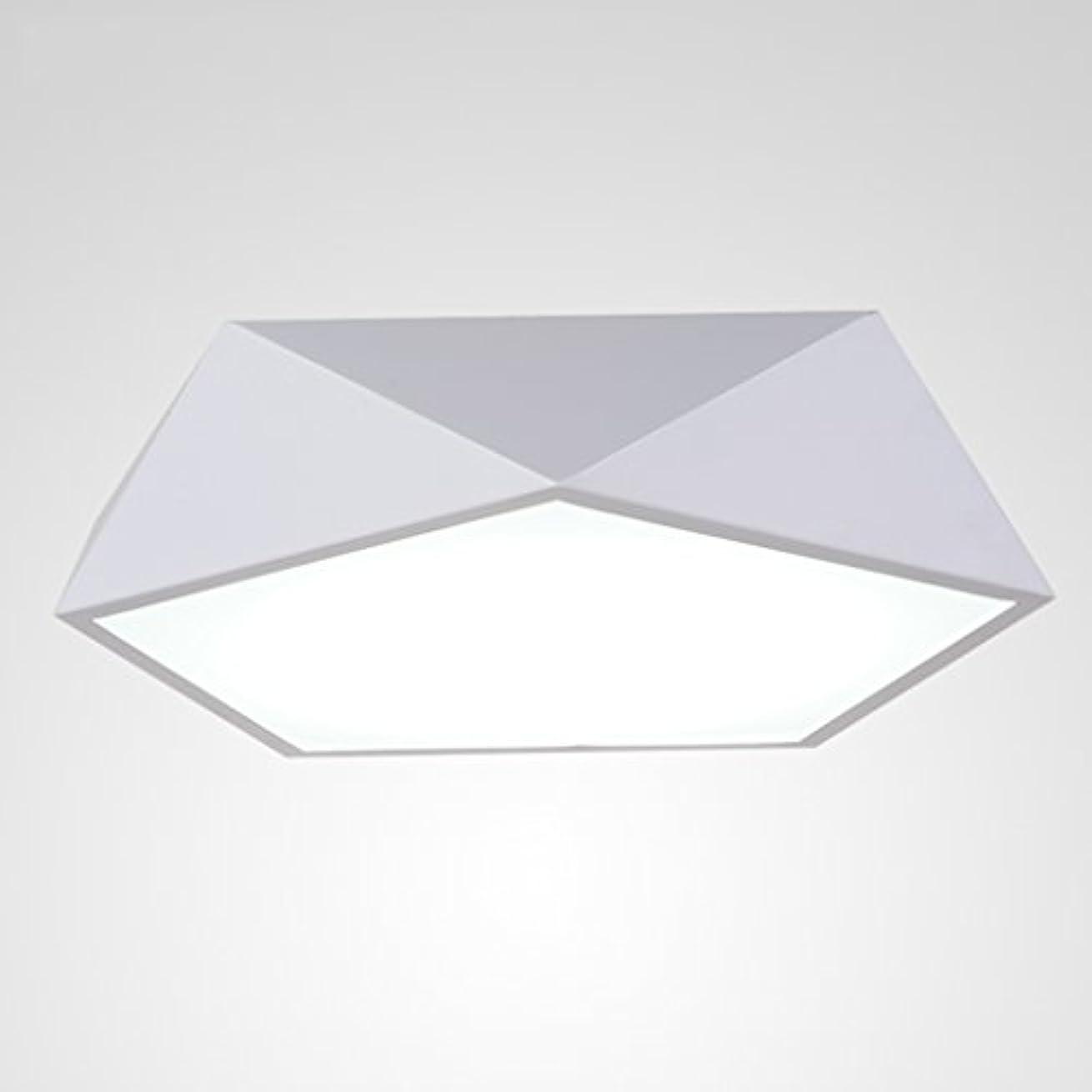 ベジタリアン形成ダーベビルのテス天井ランプ シンプルなLEDシーリングライトベッドルームライトスタディザ?キッチンバルコニーライトが。 (Color : Black, Size : 52*10cm)