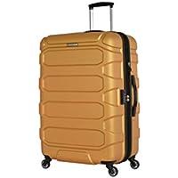 Eminent Move Lite - 65cm Medium Hard Shell Expandable Luggage 3 Year Armour Warranty (Orange)