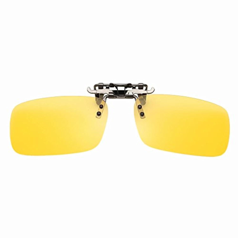 Beautyrain おしゃれなクリップ付きメガネ/サングラス ユニセックス偏光メガネ