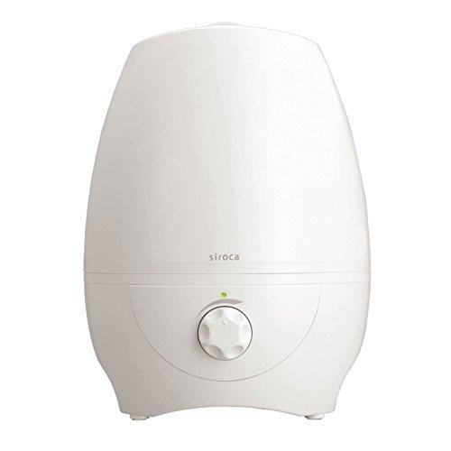 シロカ 加湿器 超音波式 ~10畳 5L ホワイト SRD-502