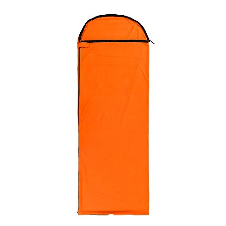 犬コンベンションパシフィック寝袋キルト3シーズンキャンプブッシュ屋外屋外 キャンプキャンプ大人の寝袋超軽量ポータブル夏春秋厚い冬暖かいライナー さまざまな色とサイズで利用可能 (色 : Orange)