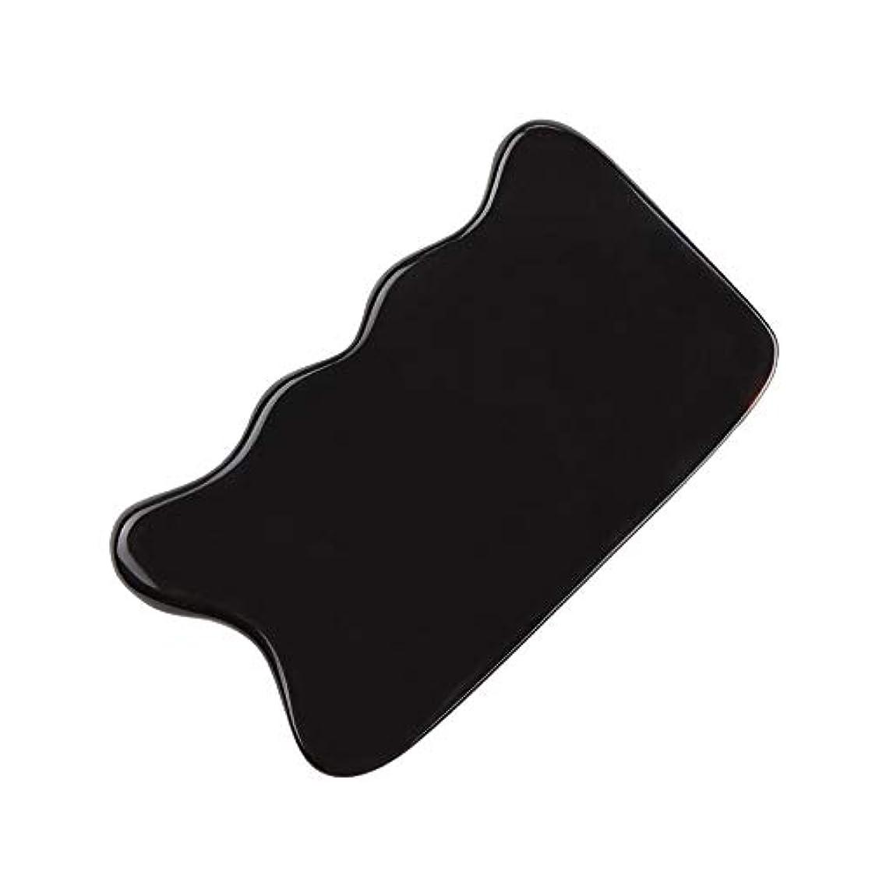 目の前のアカデミック子供っぽいMUOBOFU カッサ?マッサージ?美容器 スクレーパー 天然牛の角製 筋脈リラックス 個性logoカスタマイズ