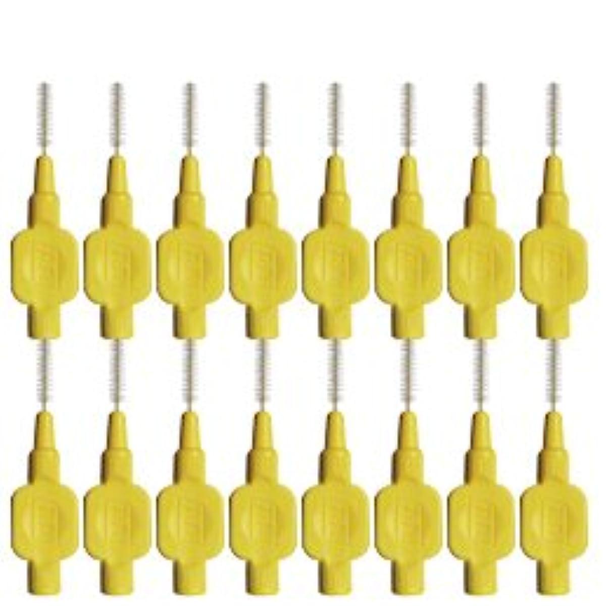 関係指夕暮れテペ(TePe) 歯間ブラシ 8本入 × 2個 イエロー(0.7mm)