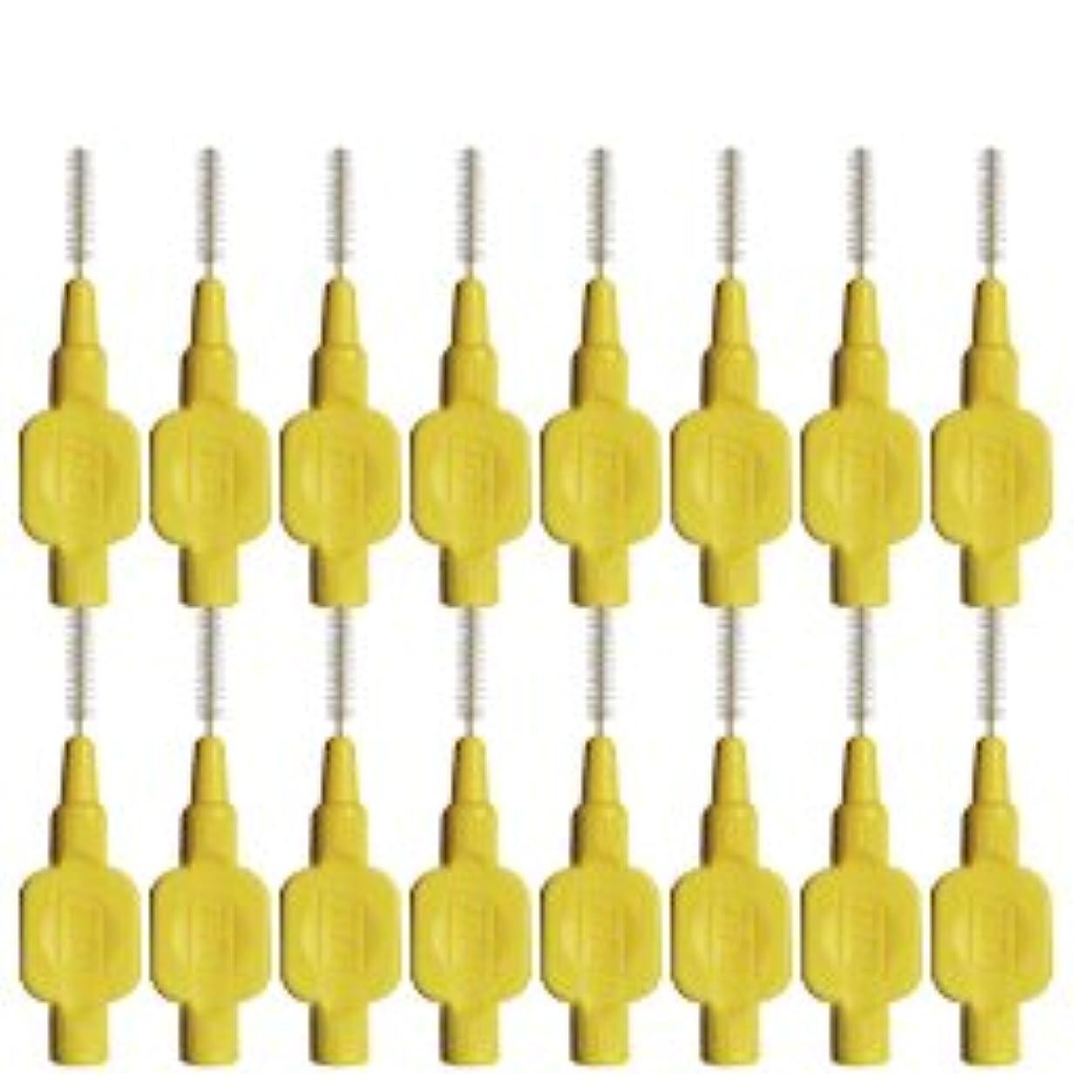 有益壊れた純度テペ(TePe) 歯間ブラシ 8本入 × 2個 イエロー(0.7mm)