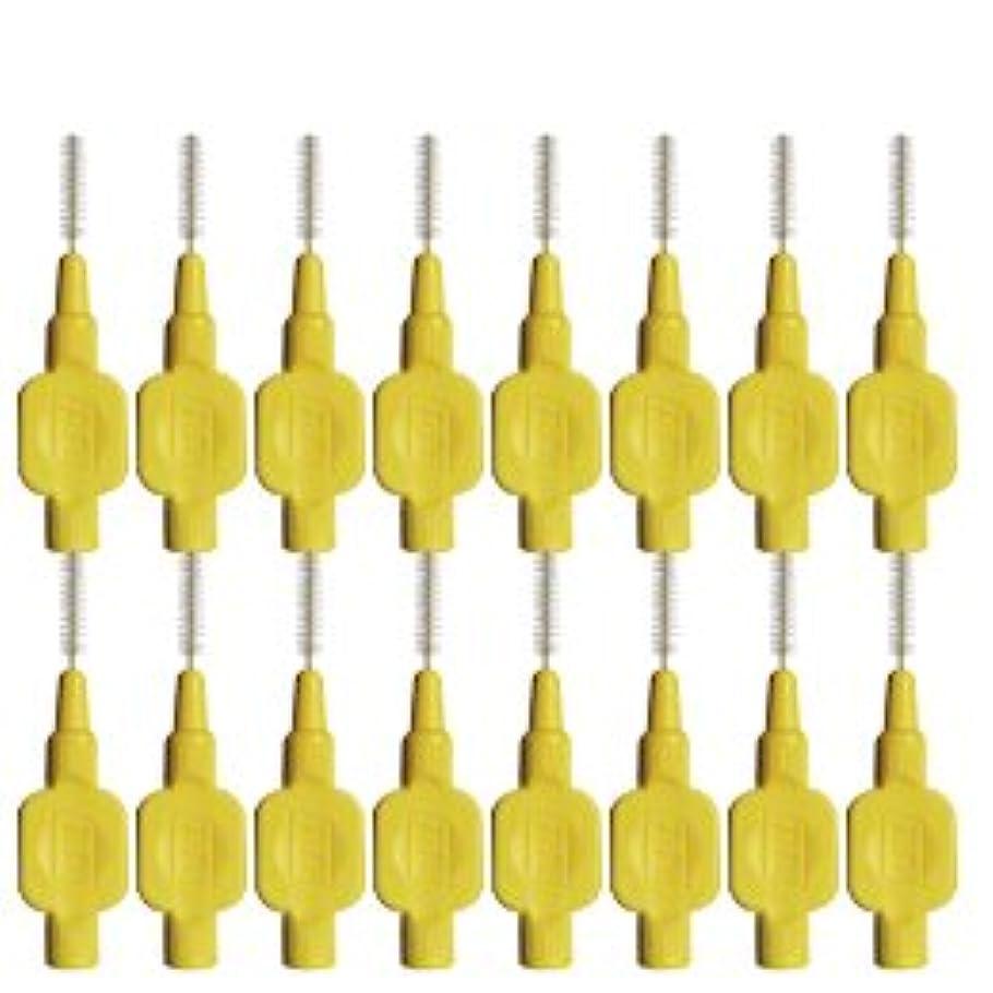 ボア思いやり増幅するテペ(TePe) 歯間ブラシ 8本入 × 2個 イエロー(0.7mm)