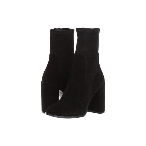 (チャイニーズランドリー)Chinese Laundry レディースブーツ・靴 Charisma Black Suede 5.5 22.5cm M [並行輸入品]