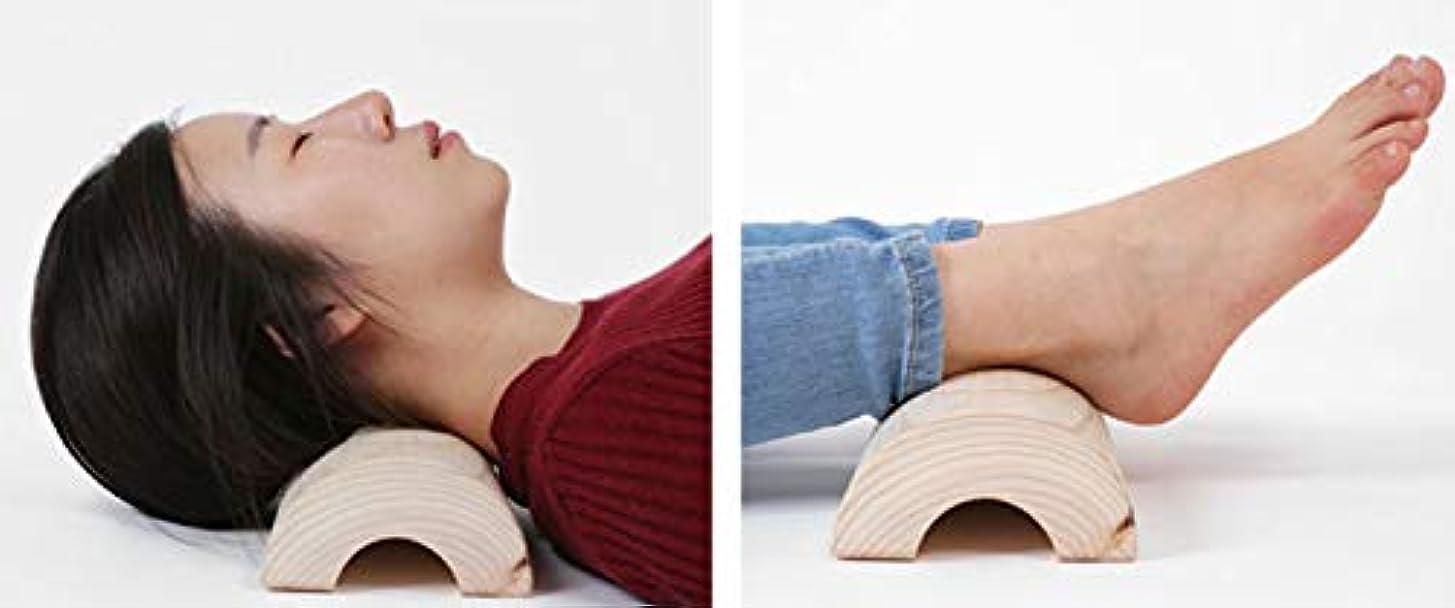 戦う夫あさりヒノキ枕,ヒノキ健康指圧枕、、高さ5.5,幅12センチもあり.長い40センチの枕、長いので寝かえり楽