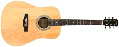 Squier by Fender アコースティックギター SA-150P Squier Dreadnought, Natural, No Pickguard