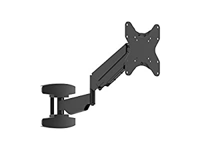 Monoprice Smooth Series Black Small Extended Reach Full-Motion TV Wall Mount Bracket