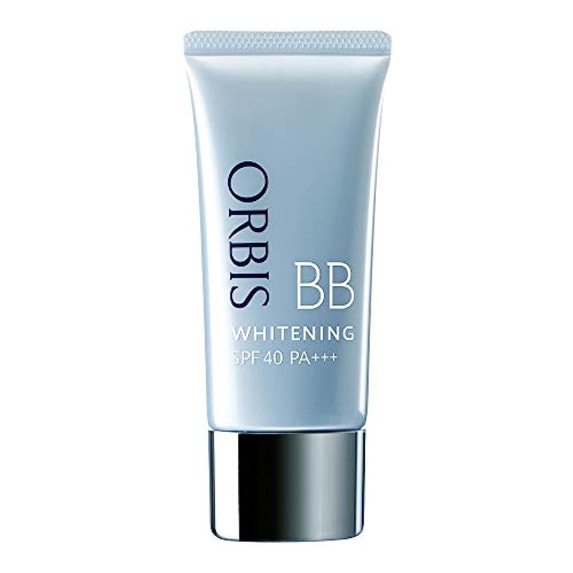 週末依存する振動させるオルビス(ORBIS) ホワイトニングBB(パフなし)ナチュラル 35g SPF40/PA+++ ◎薬用美白BBクリーム◎ [医薬部外品]