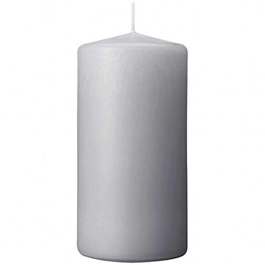 底ぐったりくしゃみカメヤマキャンドル(kameyama candle) 3×6ベルトップピラーキャンドル 「 ライトグレー 」