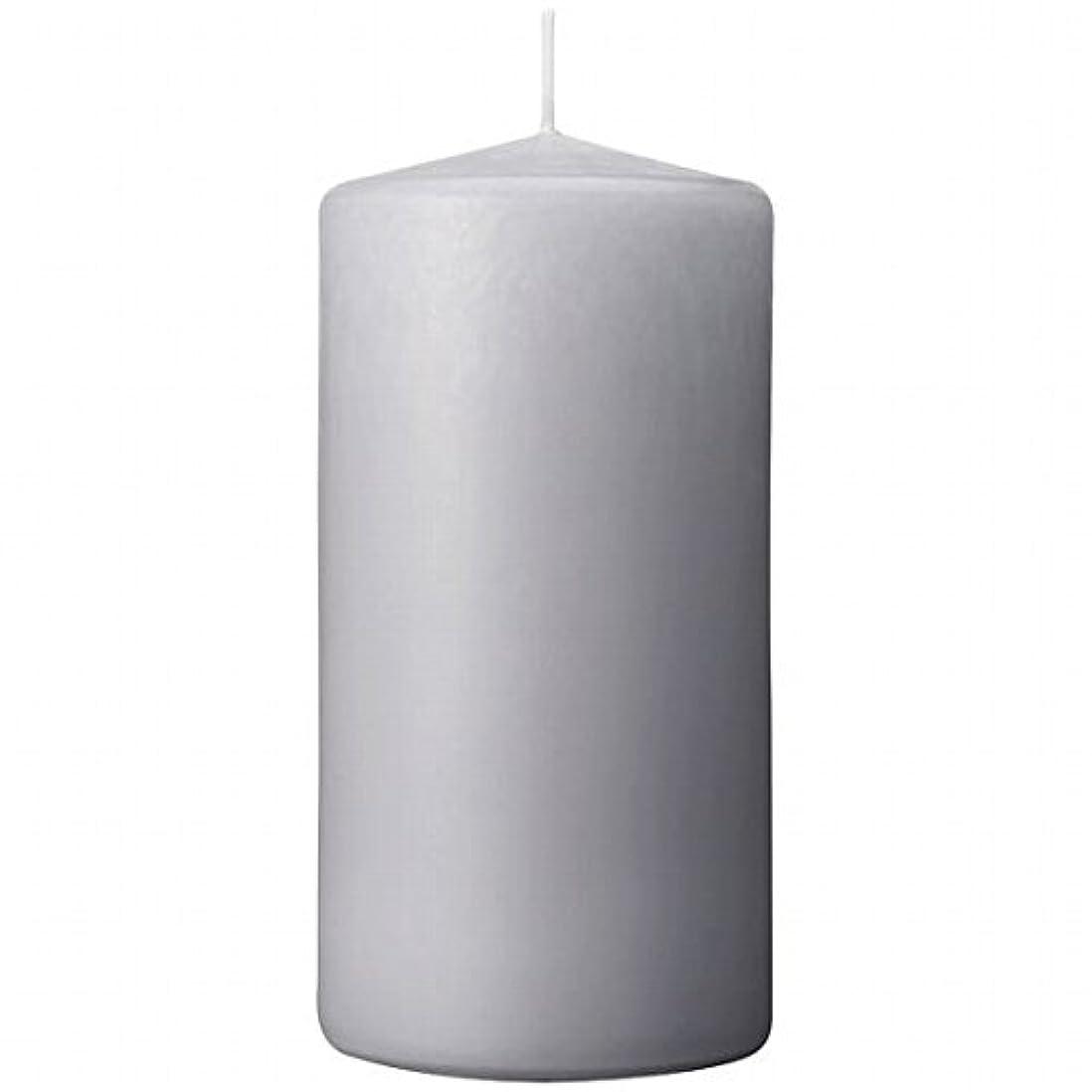 機知に富んだ家族略語カメヤマキャンドル(kameyama candle) 3×6ベルトップピラーキャンドル 「 ライトグレー 」