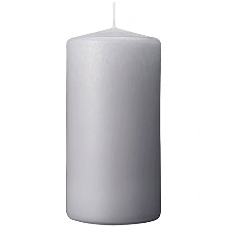 水差し病な皮肉カメヤマキャンドル(kameyama candle) 3×6ベルトップピラーキャンドル 「 ライトグレー 」