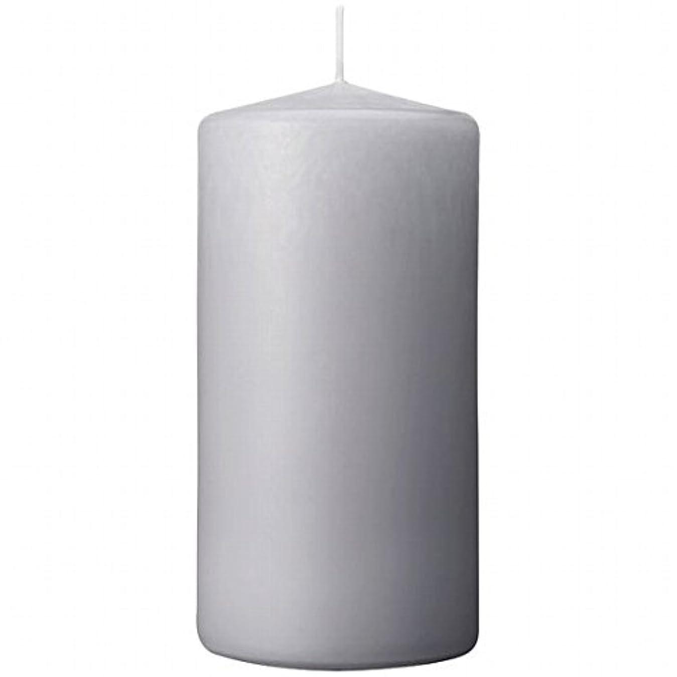歪める運動フリッパーカメヤマキャンドル(kameyama candle) 3×6ベルトップピラーキャンドル 「 ライトグレー 」