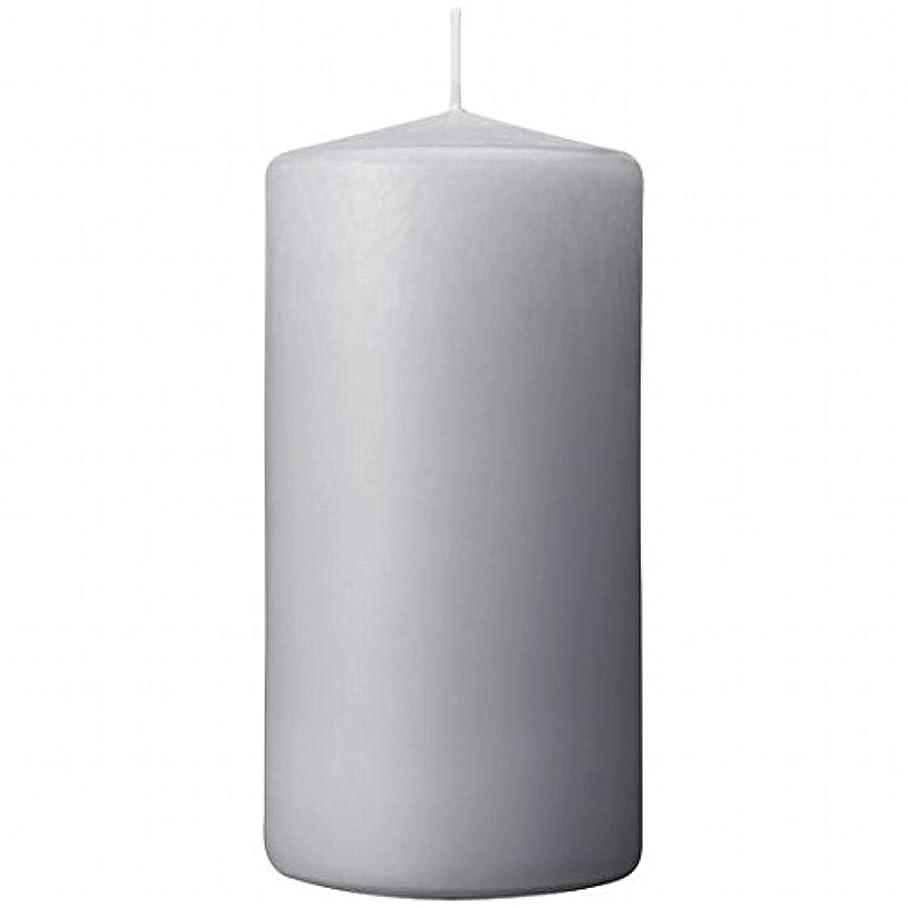 学期知り合い耐えるカメヤマキャンドル(kameyama candle) 3×6ベルトップピラーキャンドル 「 ライトグレー 」