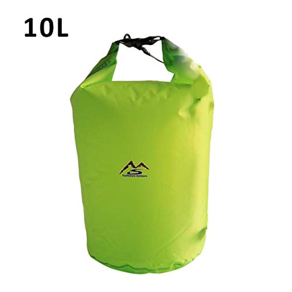 お肉解読する決定DeeploveUU 屋外ドライ防水バッグ10 lドライバッグ袋防水フローティングドライギアバッグ用ボート釣りラフティング水泳