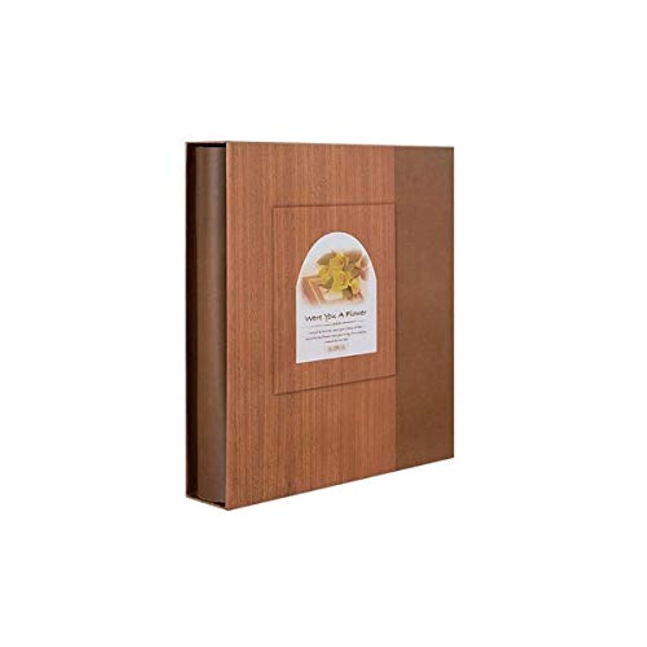 勤勉な直径東部FHSY メモリアルアルバム、創造的なアルバム、子供の成長のイラスト、6インチの家族のアルバム、学生のカップル、卒業フォトブックの古典的な木目 (Color : A)