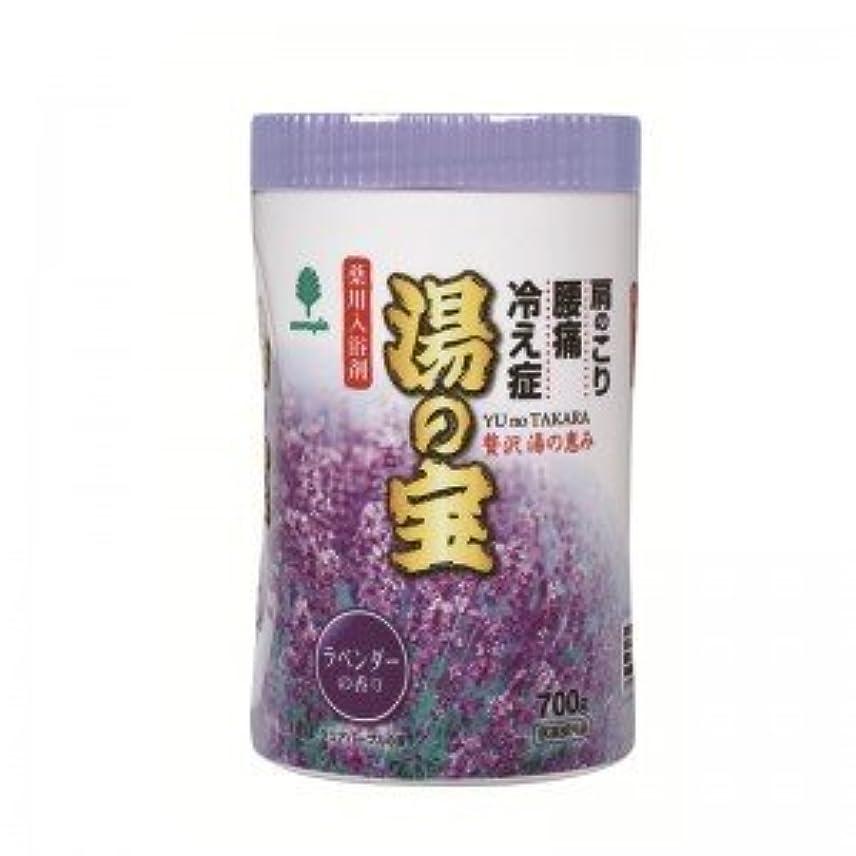 ヒロイック一時的パブ紀陽除虫菊 湯の宝 ラベンダーの香り (丸ボトル) 700g【まとめ買い15個セット】 N-0068