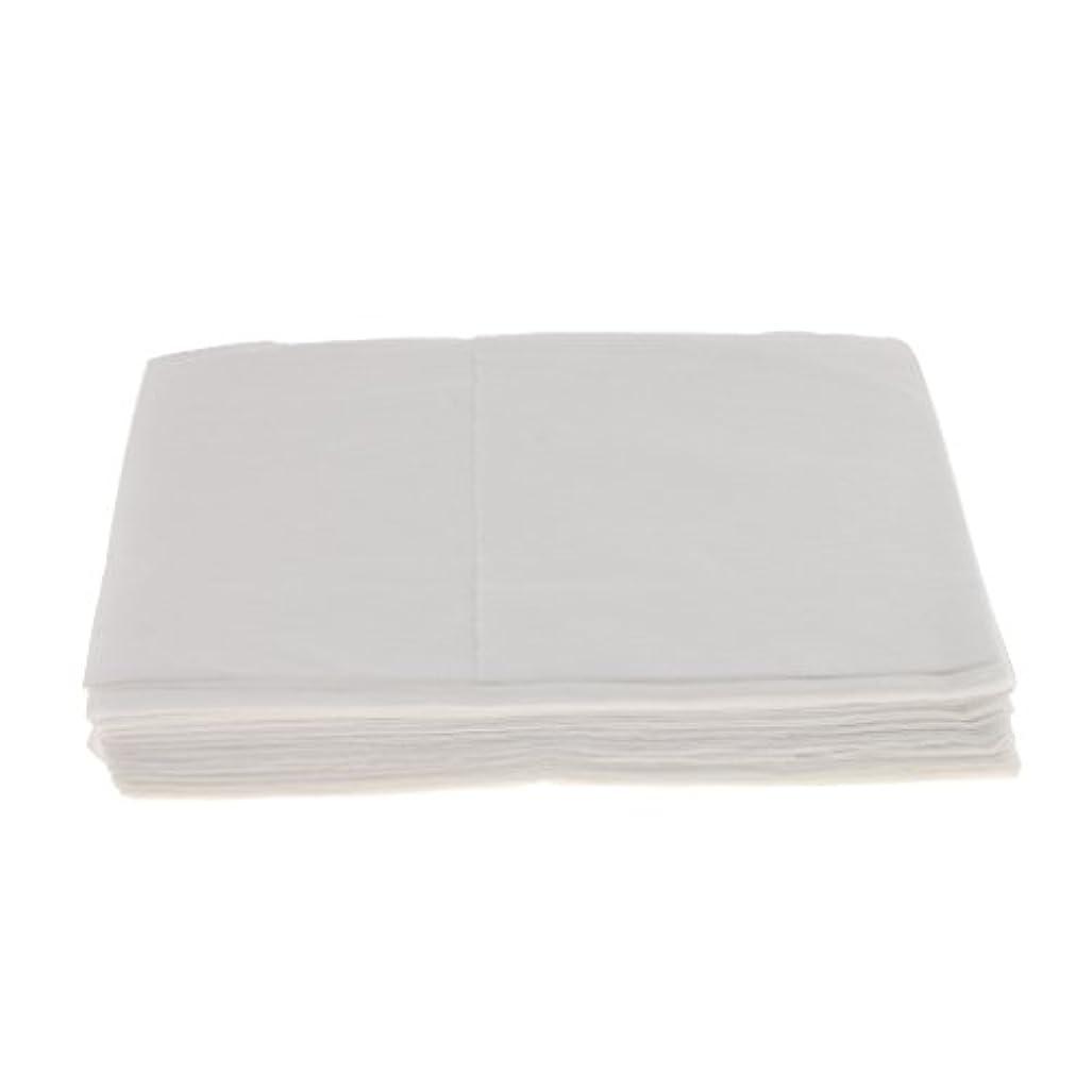 バッテリー明確な葉っぱBaosity 10枚 使い捨て ベッドシーツ サロン ホテル ベッドパッド カバー シート 2色選べ - 白