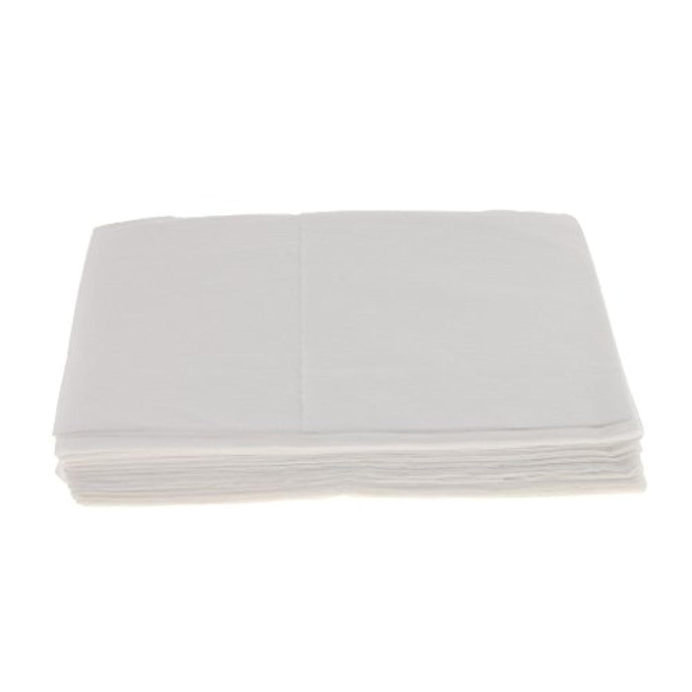 ベーリング海峡反逆失望10枚 使い捨て ベッドシーツ サロン ホテル ベッドパッド カバー シート 2色選べ - 白