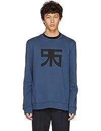 (ラフ シモンズ) Raf Simons メンズ トップス スウェット・トレーナー Navy Regular Graphic Sweatshirt [並行輸入品]