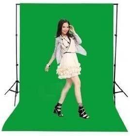 単色 布バック グリーン 撮影用背景布 グリーンバック クロマキーグリーン (2m×2.7m)