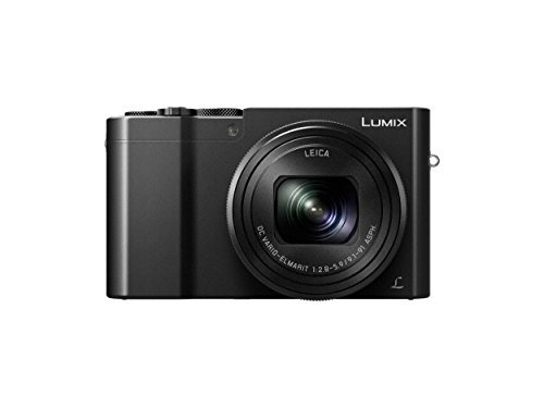 Panasonic LUMIX DMC-ZS100 Camera, 20.1 Megapixels 1-inch Sensor 4K Video, WiFi, 3.0-inch LCD, Leica DC Lens 10X F2.8-5.9 Zoom (Black) [並行輸入品]